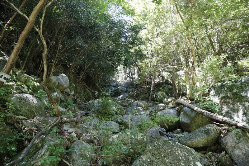 桐原登山口写真